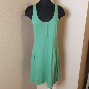 Lucy Green Sleeveless Tie Back Dress